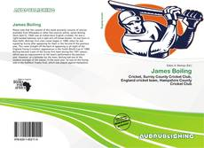 Bookcover of James Boiling