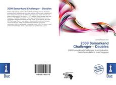 Bookcover of 2009 Samarkand Challenger – Doubles
