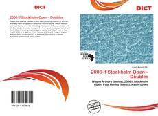 Capa do livro de 2006 If Stockholm Open – Doubles
