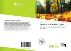 Copertina di 2008 If Stockholm Open