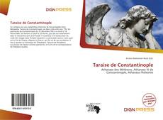 Bookcover of Taraise de Constantinople
