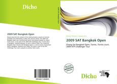 Portada del libro de 2009 SAT Bangkok Open