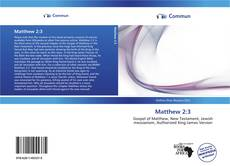 Bookcover of Matthew 2:3