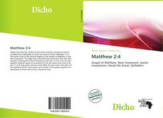 Bookcover of Matthew 2:4