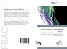 Bookcover of Antipater (son of Herod the Great)