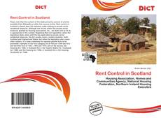 Bookcover of Rent Control in Scotland