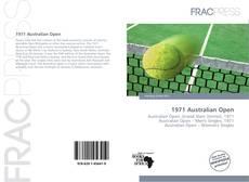 Обложка 1971 Australian Open