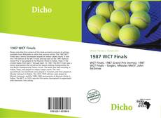 Bookcover of 1987 WCT Finals