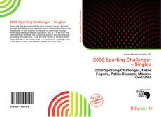 Bookcover of 2009 Sporting Challenger – Singles