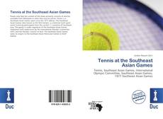 Capa do livro de Tennis at the Southeast Asian Games