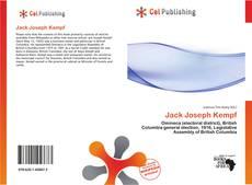 Buchcover von Jack Joseph Kempf