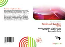 Bookcover of Temples of Cybele in Rome