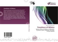 Обложка Timotheus of Miletus