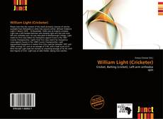 Capa do livro de William Light (Cricketer)