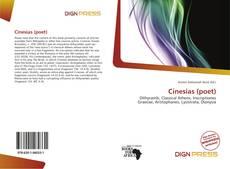 Обложка Cinesias (poet)