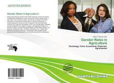 Bookcover of Gender Roles in Agriculture
