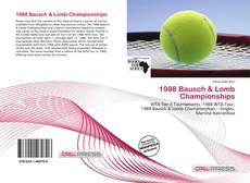 Bookcover of 1988 Bausch & Lomb Championships
