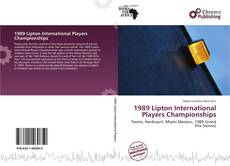 Capa do livro de 1989 Lipton International Players Championships