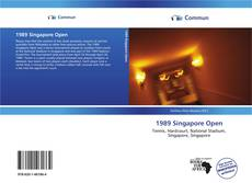 Bookcover of 1989 Singapore Open