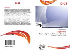 Bookcover of Agrionia