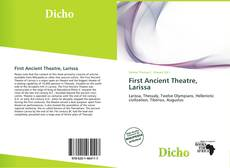 Couverture de First Ancient Theatre, Larissa