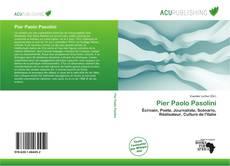 Pier Paolo Pasolini kitap kapağı
