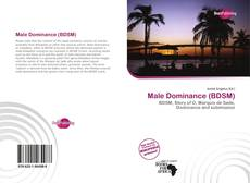 Bookcover of Male Dominance (BDSM)