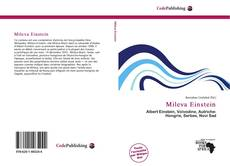 Bookcover of Mileva Einstein