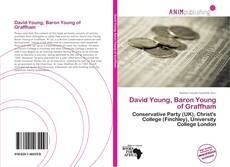 Bookcover of David Young, Baron Young of Graffham