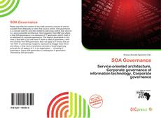 Bookcover of SOA Governance