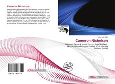 Bookcover of Cameron Nicholson