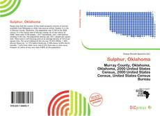 Buchcover von Sulphur, Oklahoma