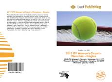 Bookcover of 2012 ITF Women's Circuit – Wenshan – Singles
