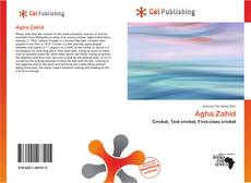Capa do livro de Agha Zahid