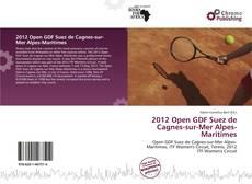Bookcover of 2012 Open GDF Suez de Cagnes-sur-Mer Alpes-Maritimes