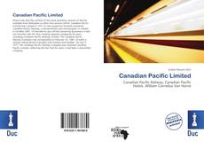 Bookcover of Canadian Pacific Limited