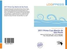 Capa do livro de 2011 Prime Cup Aberto de São Paulo