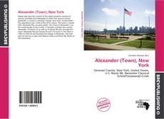 Bookcover of Alexander (Town), New York