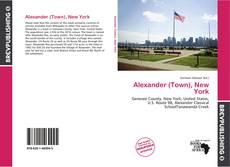 Copertina di Alexander (Town), New York
