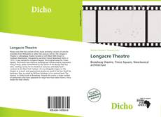 Bookcover of Longacre Theatre