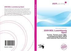 Borítókép a  2009 BGL Luxembourg Open - hoz