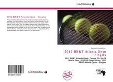 2012 BB&T Atlanta Open – Singles的封面