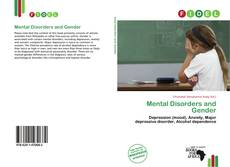 Mental Disorders and Gender kitap kapağı