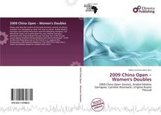 Обложка 2009 China Open – Women's Doubles
