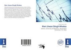 Copertina di Hari Jiwan Singh Khalsa
