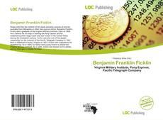 Capa do livro de Benjamin Franklin Ficklin
