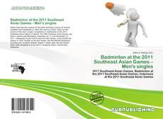 Capa do livro de Badminton at the 2011 Southeast Asian Games – Men's singles