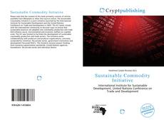 Bookcover of Sustainable Commodity Initiative
