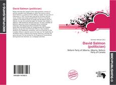 Couverture de David Salmon (politician)