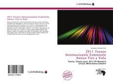 Bookcover of 2011 Torneo Internazionale Femminile Antico Tiro a Volo